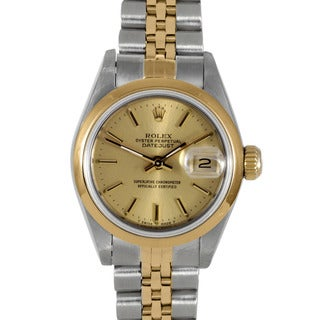 Pre-Owned Rolex Women's Two-Tone Steel Datejust Watch with Jubilee Bracelet