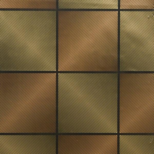 Brewster Orange/ Gold Geometric Wallpaper