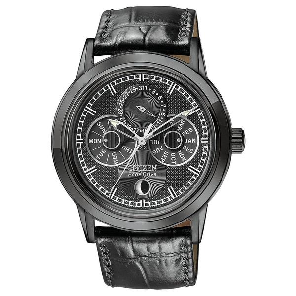 Citizen Men's Calibre 8651 Eco-Drive Moon Phase Watch