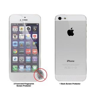 Apple iPhone 5 Anti-fingerprint Screen Protector (Set of 3)