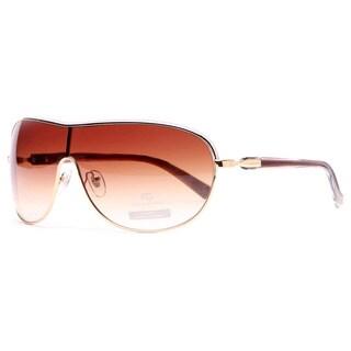Anais Gvani Women's Shield Frame Sunglasses