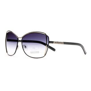 Link to DASEIN by Anais Gvani Women's AG-U042 Mini Gold Ellipse Sunglasses Similar Items in Women's Sunglasses