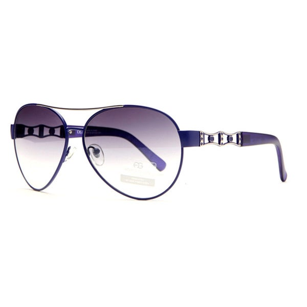 DASEIN by Anais Gvani Women's Aviator Punch Out Sunglasses