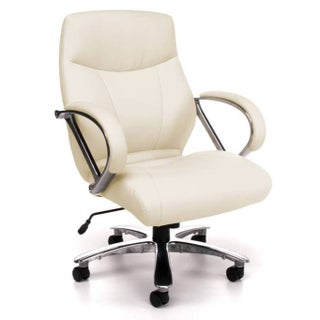 OFM 811-LX Mid Back Big and Tall Executive Chair (Option: Cream)