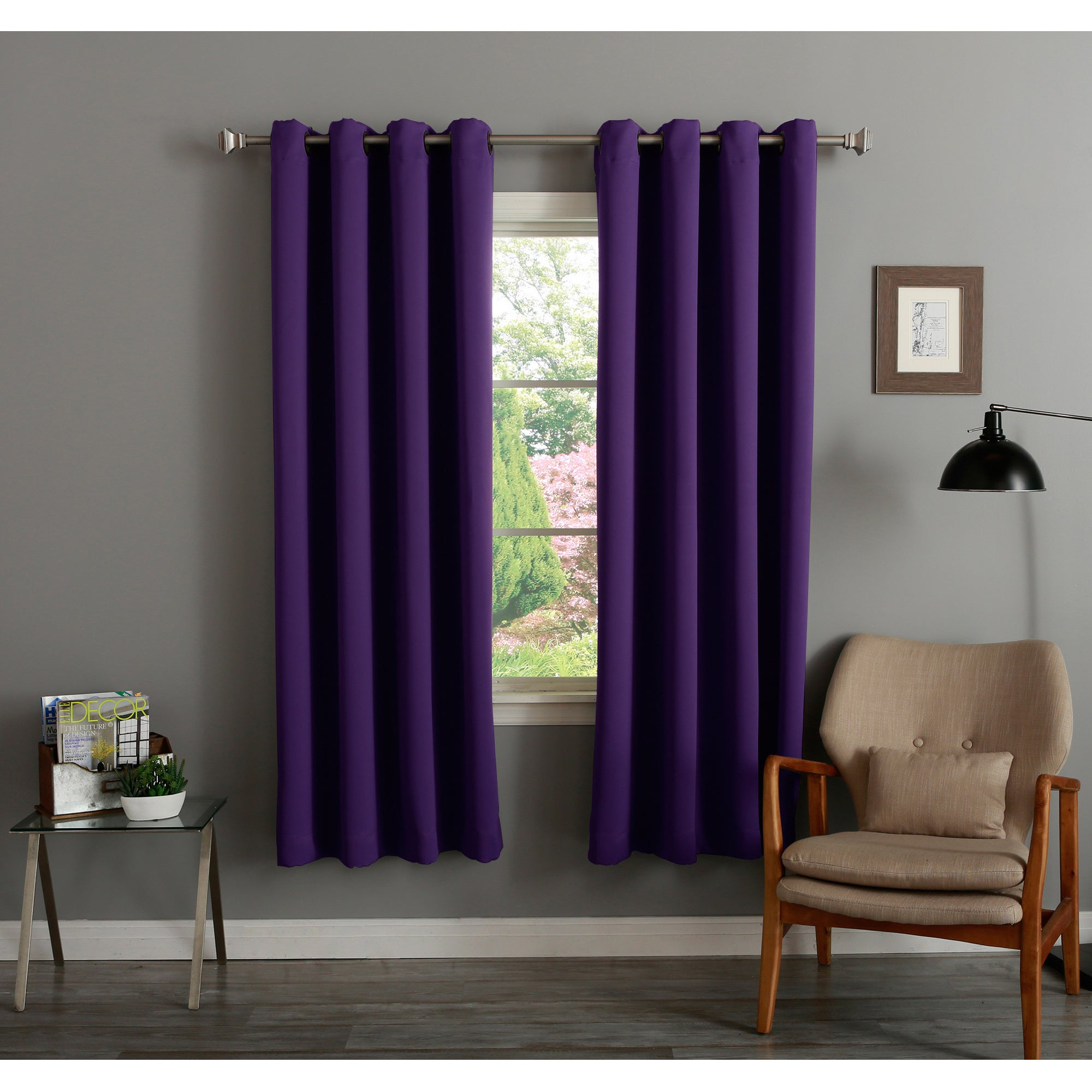 Aurora Home Insulated 72-inch Thermal Blackout Curtain