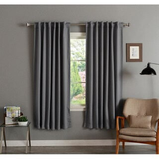 Aurora Home Insulated 72-inch Thermal Blackout Curtain Panel Pair - 52 x 72