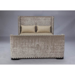 JAR Design 'Deco' Espresso Queen-size Bed
