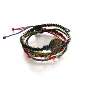 Wakami 4-Strand Women's Earth Bracelet (Guatemala)