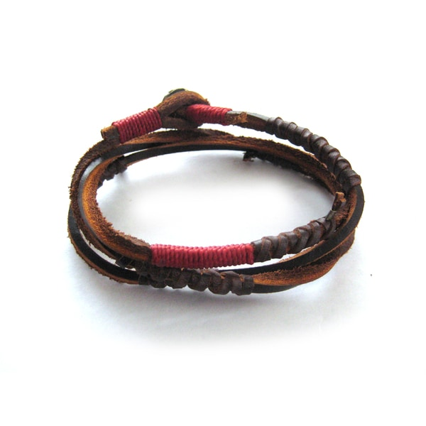 Wakami Copper Earth Wrap Bracelet (Guatemala)