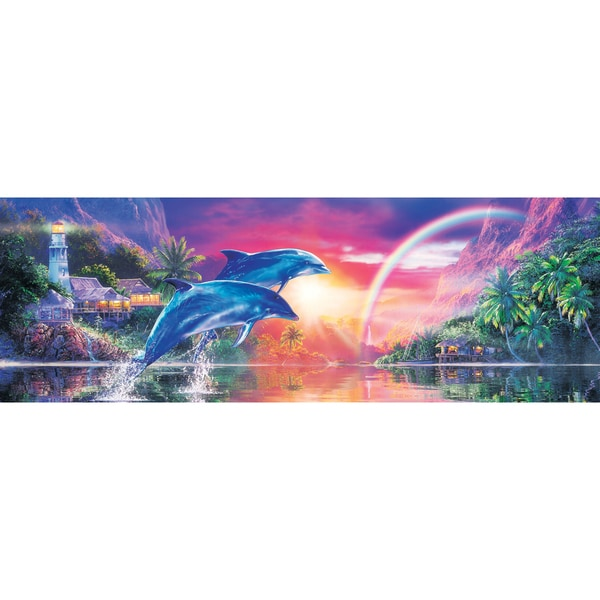 Masterpieces 'Earthly Paradise' 1000-piece Panoramic Jigsaw Puzzle