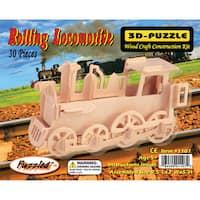 Puzzled Train 3D Puzzle Wood Craft Construction Kit