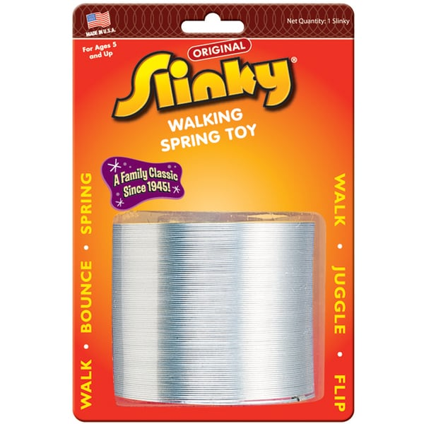 Poof-Slinky Original Slinky Blister Carded