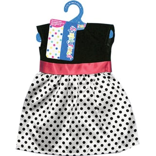 Springfield Collection Black/ White Polka Dot Dress