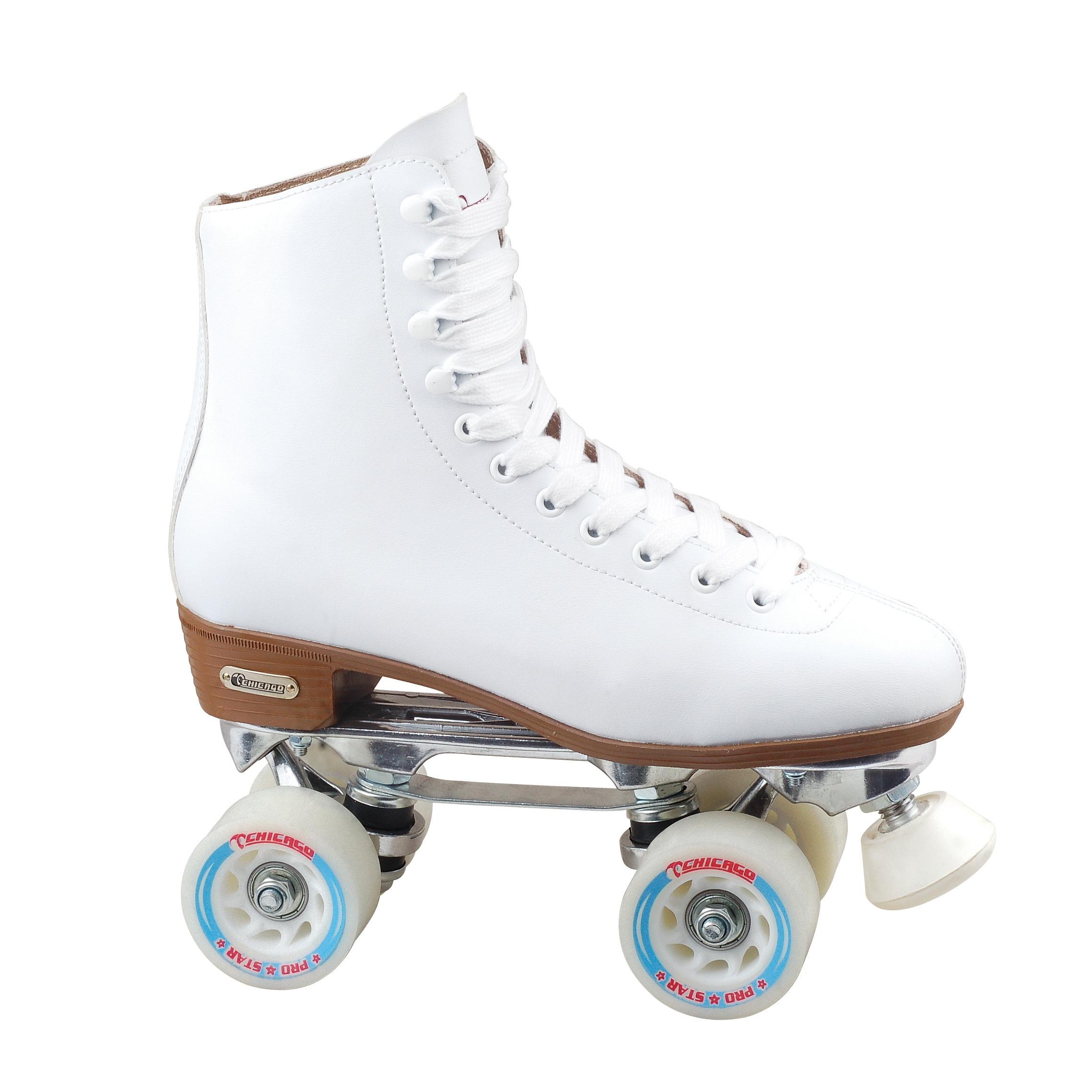 Chicago Skates Women's Deluxe Lined Rink Skate (Size 10),...