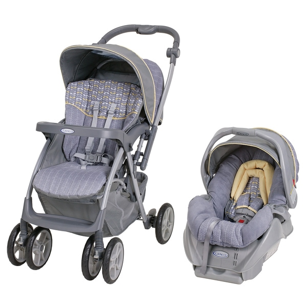 Graco Alano FlipIt Travel System in Wilco