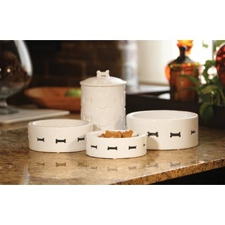 Unleashed Life Bone Appetit Collection-Pet Bowls