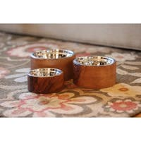 Unleashed Life Anderson Wood Pet Bowls