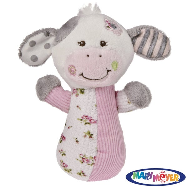 Mary Meyer Baby Cheery Cheeks 'Moo Moo Cow' Rattle