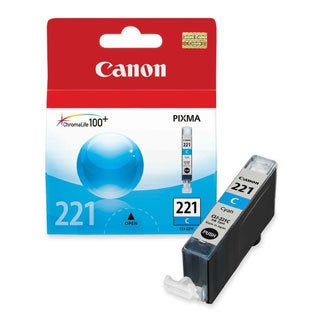 Canon CLI-221 Cyan Ink Cartridge