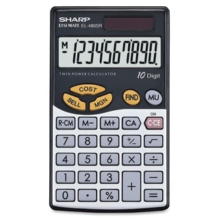 Sharp Calculators EL480 Handheld Calculator