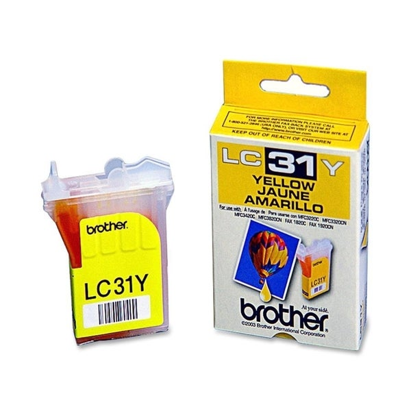 Brother LC31Y Ink Cartridge
