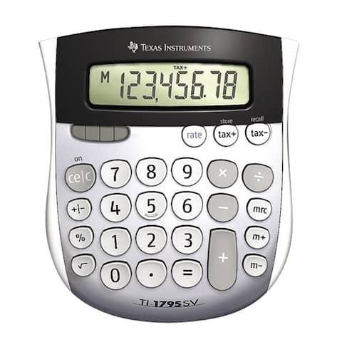 Texas Instruments TI-1795 SV Simple Calculator