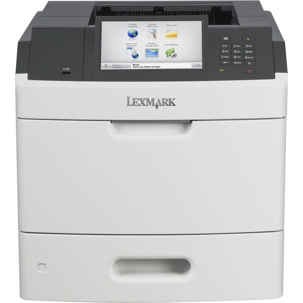 Lexmark MS812DE Laser Printer - Monochrome - 1200 x 1200 dpi Print -