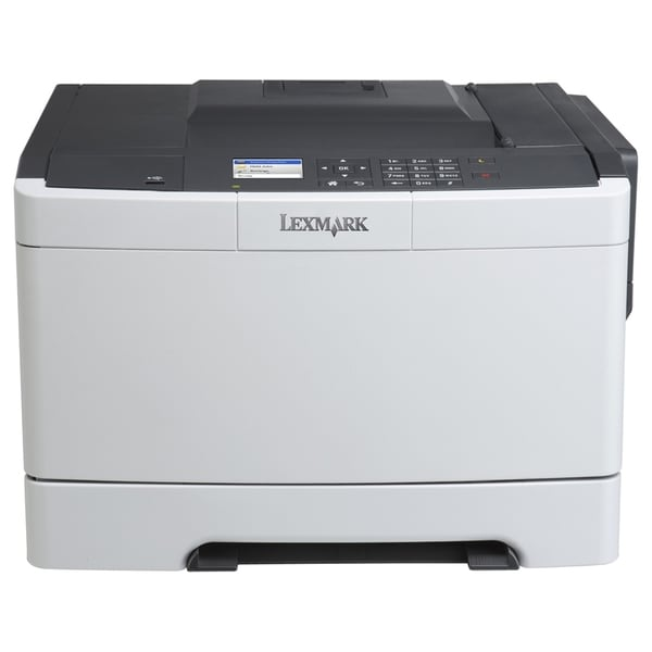 Lexmark CS410N Laser Printer - Color - 2400 x 600 dpi Print - Plain P