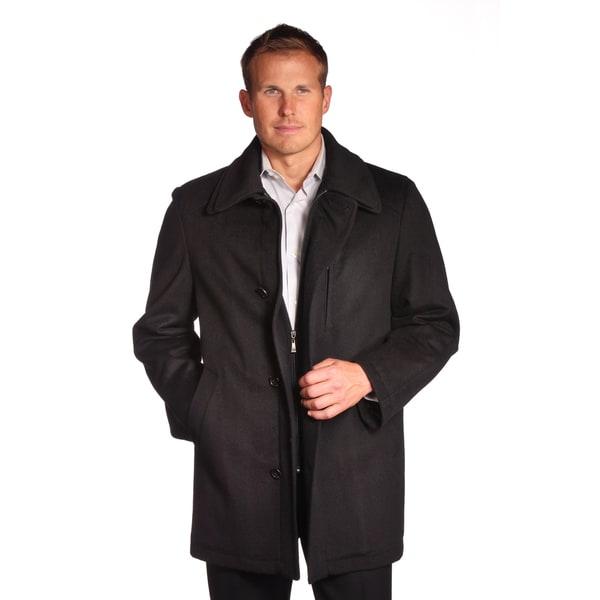 Jean Paul Germain Men's Denver Wool Blend Coat