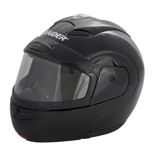 Raider Black Modular Snow Helmet