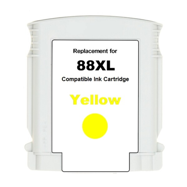 HP 88XL/ C9393AN High Yield Yellow Ink Cartridge (Remanufactured)