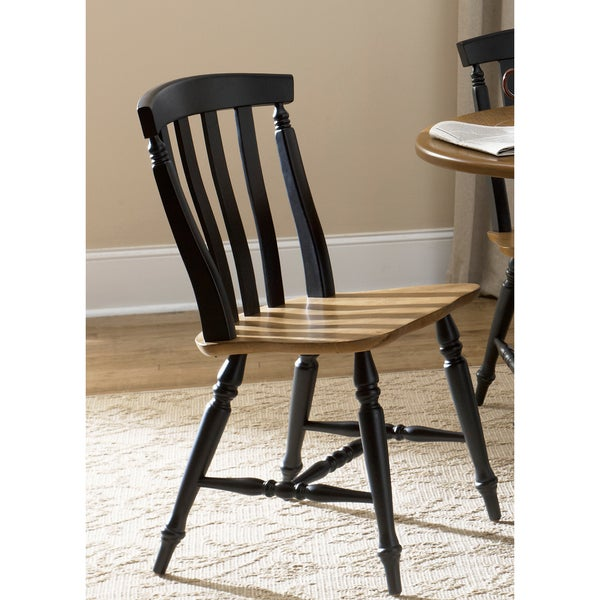 Liberty Al Fresco II Casual Slat Back Dining Chairs (Set of 2)
