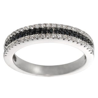 Journee Collection Two-tone Sterling Silver CZ Bridal-style Ring