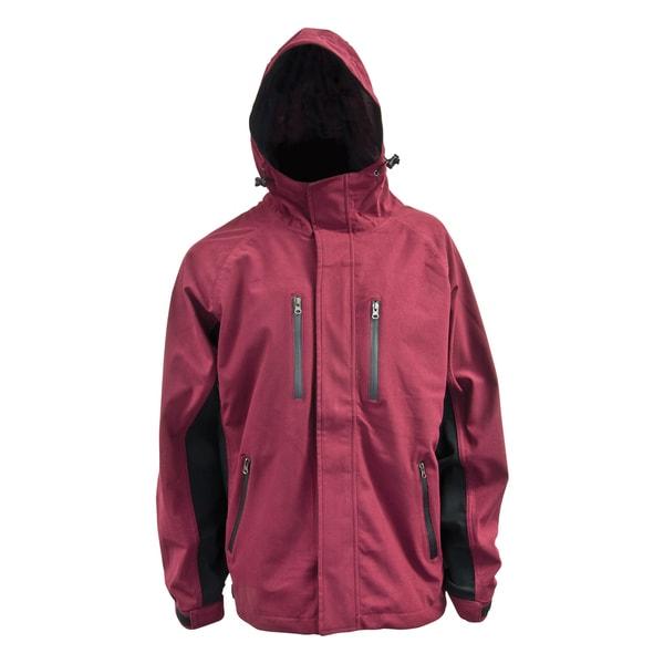 Mossi XT Burgundy Rain Jacket