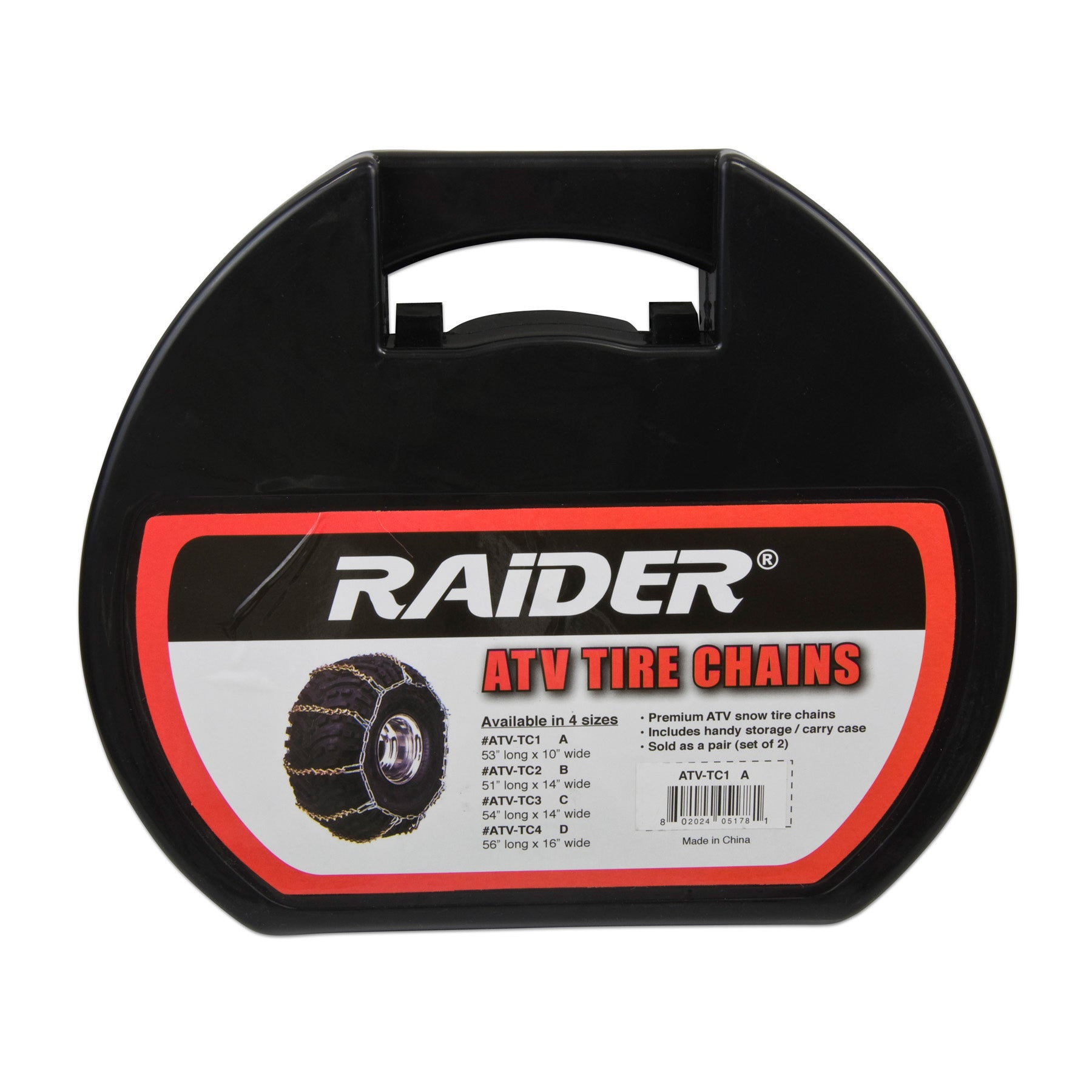 "Raider ATV/UTV 'A' Tire Chain (Raider-ATV Tire Chain ""A"" ..."