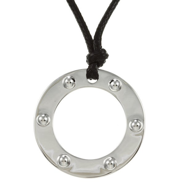 ELLE Sterling Silver Cord Necklace