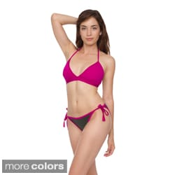 American Apparel Women's Nylon Tricot Side-Tie Bikini Bottoms