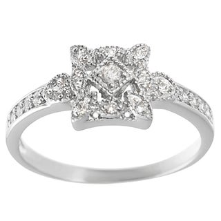 Sterling Silver Cubic Zirconia Vintage Wedding Ring