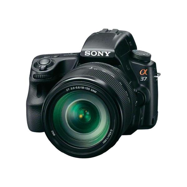 Sony Alpha SLT-A37 Digital SLR Camera with 18-135mm Zoom Lens