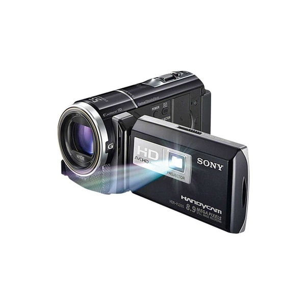 Sony Handycam HDR-PJ200 Black HD Digital Camcorder with Projector