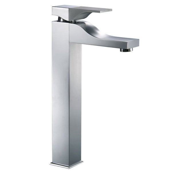 CAE 12.4-inch Tall Single-handle Chrome Vessel Sink Bathroom Faucet