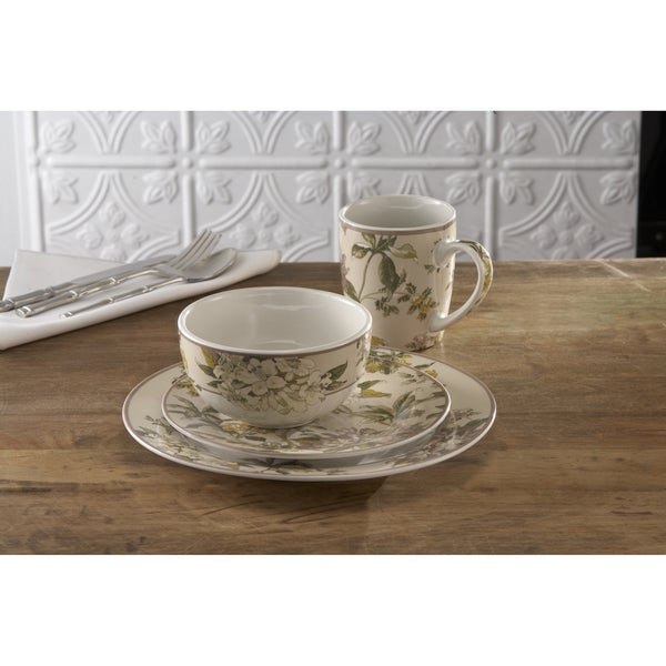 Waverly 'Fawn Hill' 16-piece Dinnerware Set