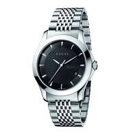 Gucci Men's 'Timeless' Stainless Steel Watch - silver