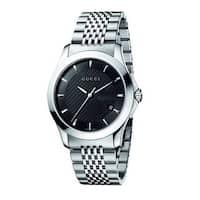 5cc4b66fb19 Shop Gucci Men s YA138402  G-Timeless  Rectangle Swiss Quartz ...