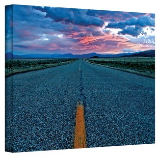 Mark Ross 'US 91' Wrapped Canvas Art