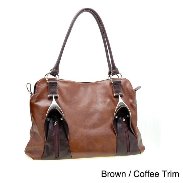 Dasein Fashion Tall Tote Handbag