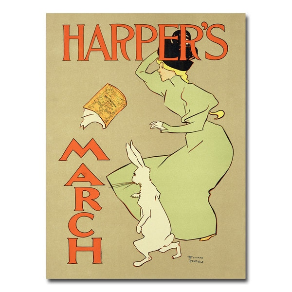Harper's Magazine March Edition 1894' Canvas Art
