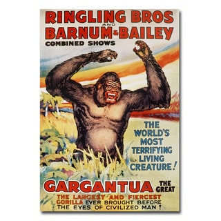 39 Ringling Brothers And Barnum And Bailey 39 Canvas Art Multi Free Shipping Today Overstock
