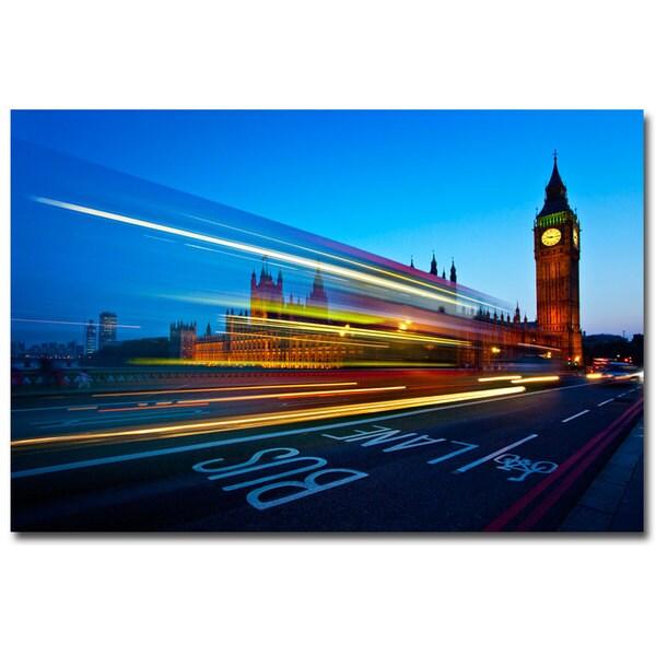 Nina Papiorek 'London Big Ben' Canvas Art