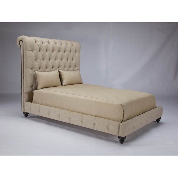 JAR Design 'Alphonse Tufted' Barley California King Bed